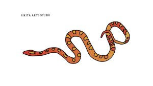 snake drawing simple serpent tutorial clipartmag corn