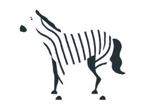 zebra clipartmag simple drawing