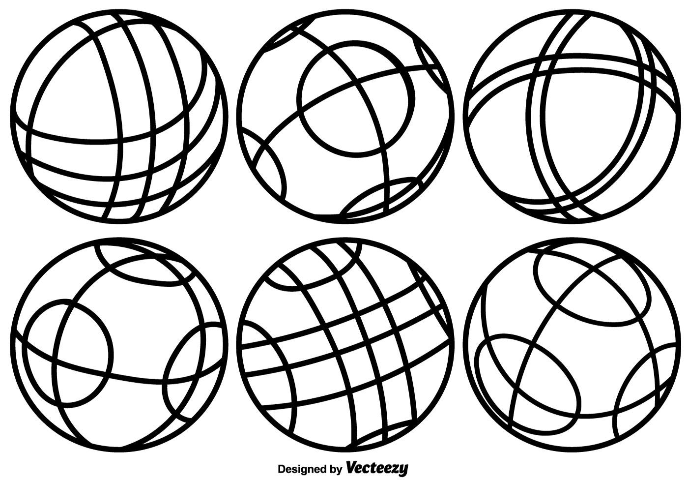 Sports Balls Drawings