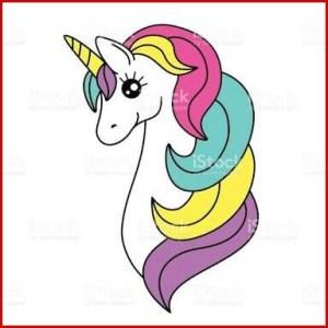 unicorn easy drawing draw unicornios clipartmag unicornio guardado desde uploaded user cartoon