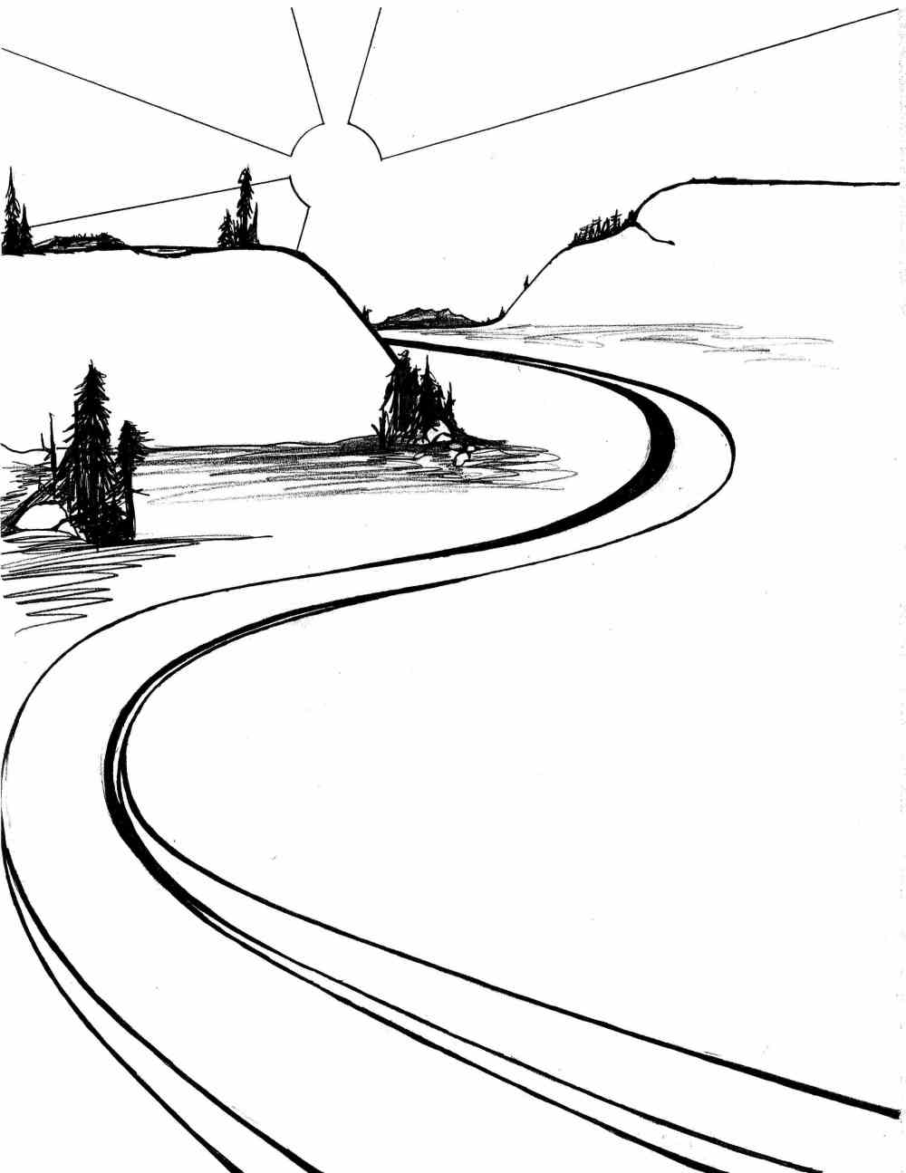 medium resolution of 2503x3242 river drawing winding river for free download