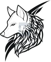 wolf drawing cool drawings easy clipartmag