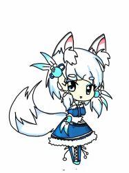 Kawaii Anime Wolf Girl Chibi