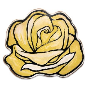 rose yellow drawing clipartmag