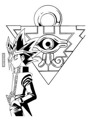 yu gi oh coloring pages yugioh drawing series tv illuminati clipartmag dragons card picgifs getdrawings
