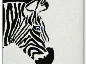 zebra easy drawing drawings clipartmag kid paintingvalley