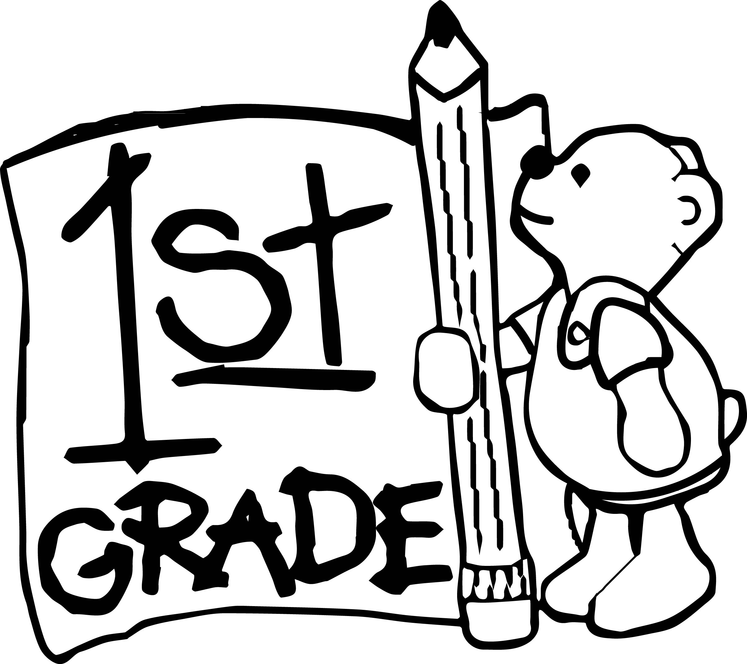 1st Grade Coloring Pages