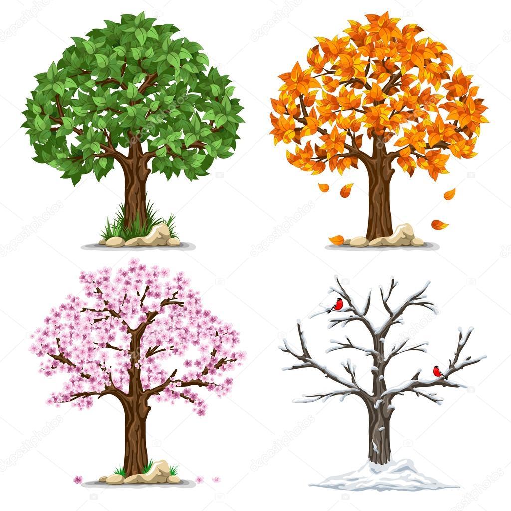 4 Seasons Clipart