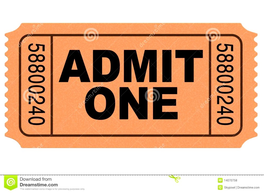 medium resolution of 1300x951 concert ticket template free admit one template admission