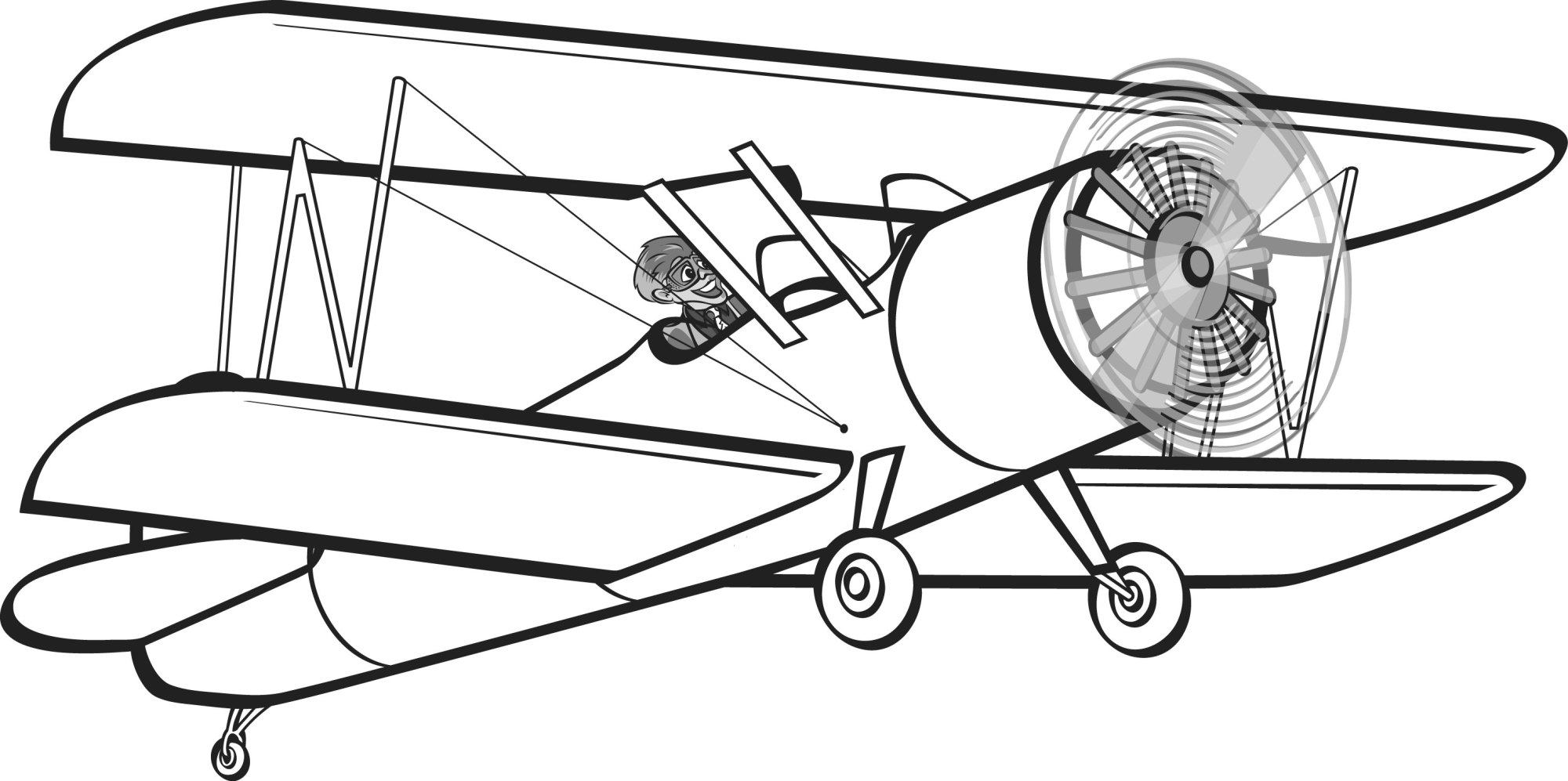 hight resolution of 2929x1461 aviation clipart biplane