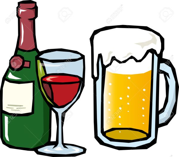 alcoholic drinks clipart free