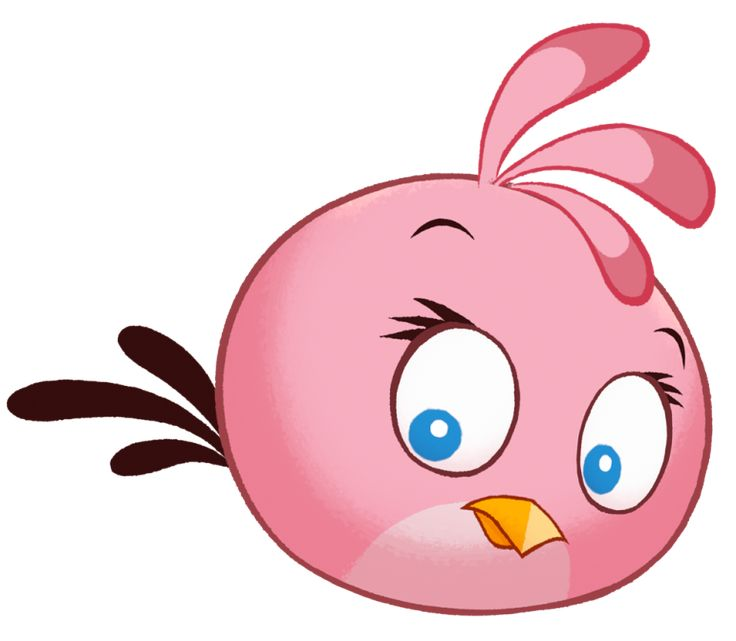 angry bird clipart free