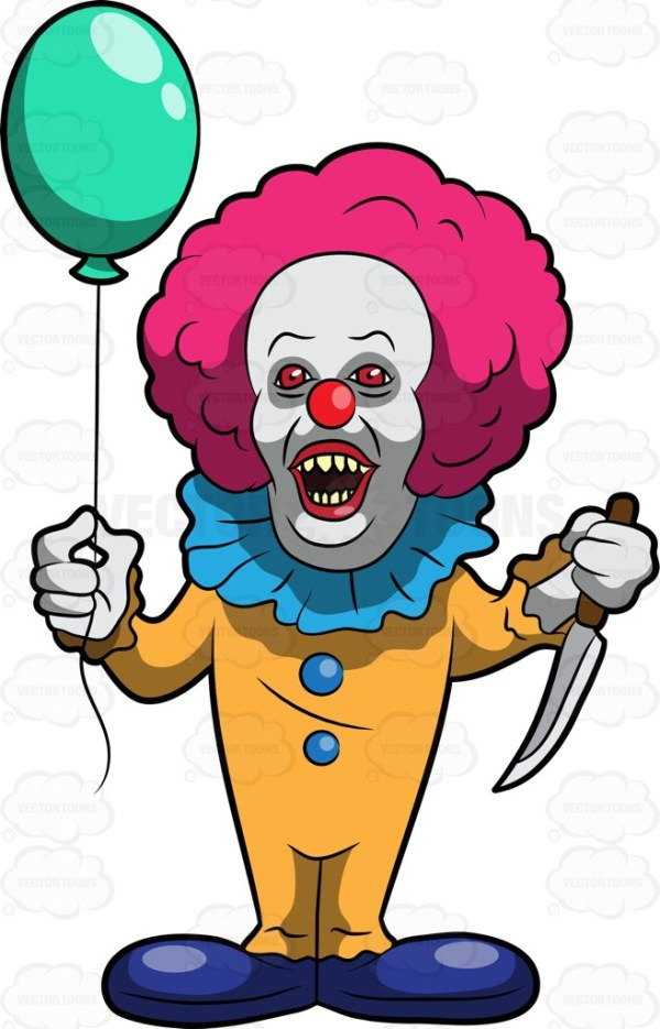 animated clown free