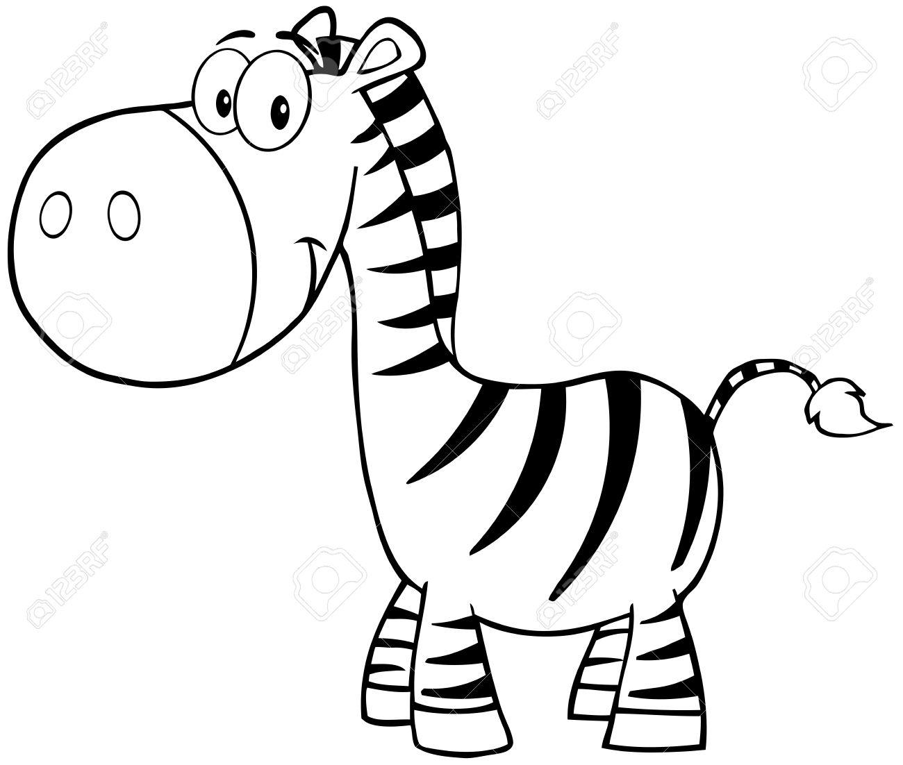 Animated Zebra Cliparts