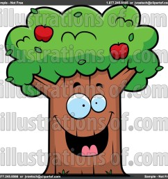 1024x1024 basket clipart apple tree [ 1024 x 1024 Pixel ]