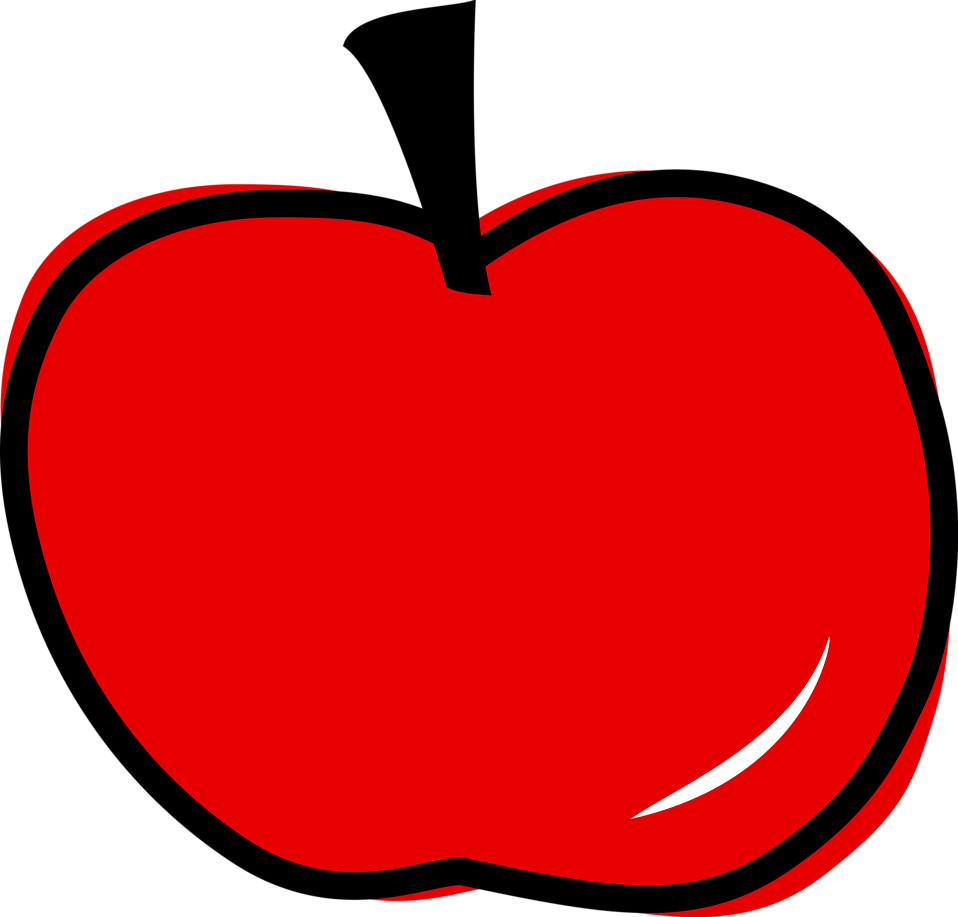 medium resolution of 958x917 apple clipart clear background