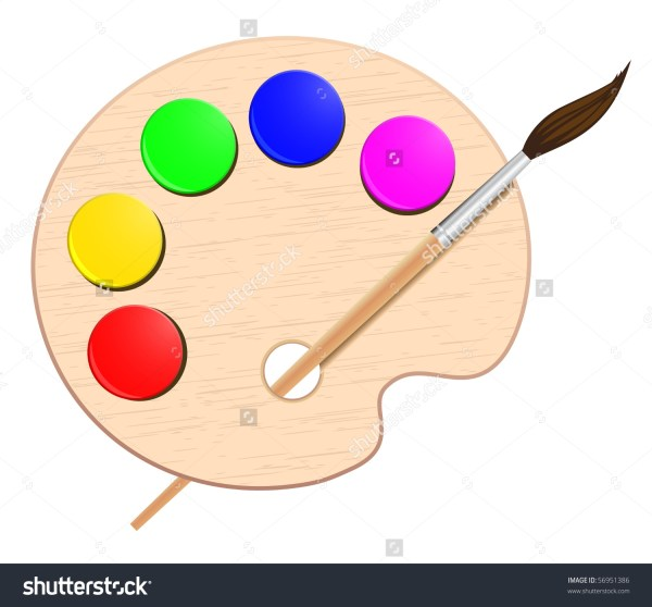 Artist Palette Clipart Free