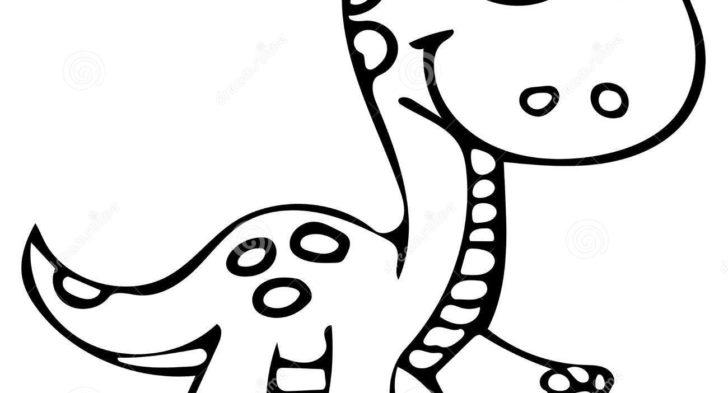 Drawn Dinosaur Simple