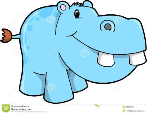 small resolution of 1300x1009 hippopotamus clipart