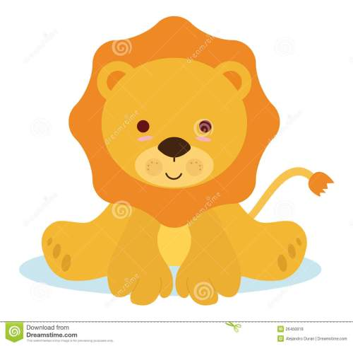 small resolution of 1300x1272 animal clipart baby lion