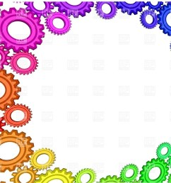 1200x854 abstract background with multicolored gears royalty free vector [ 1200 x 854 Pixel ]