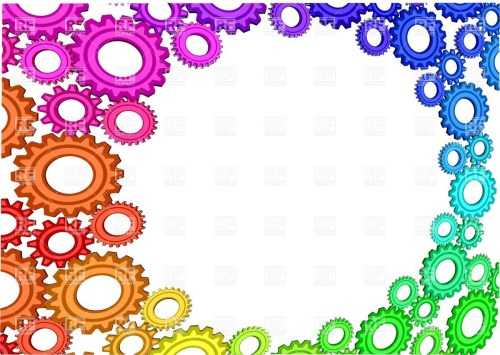 small resolution of 1200x854 abstract background with multicolored gears royalty free vector