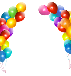 4944x3702 colorful balloons decor transparent png clipartu200b gallery [ 4944 x 3702 Pixel ]