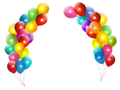small resolution of 4944x3702 colorful balloons decor transparent png clipartu200b gallery