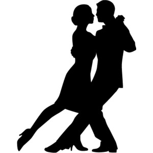 Ballroom Dancers Silhouettes Free download best Ballroom