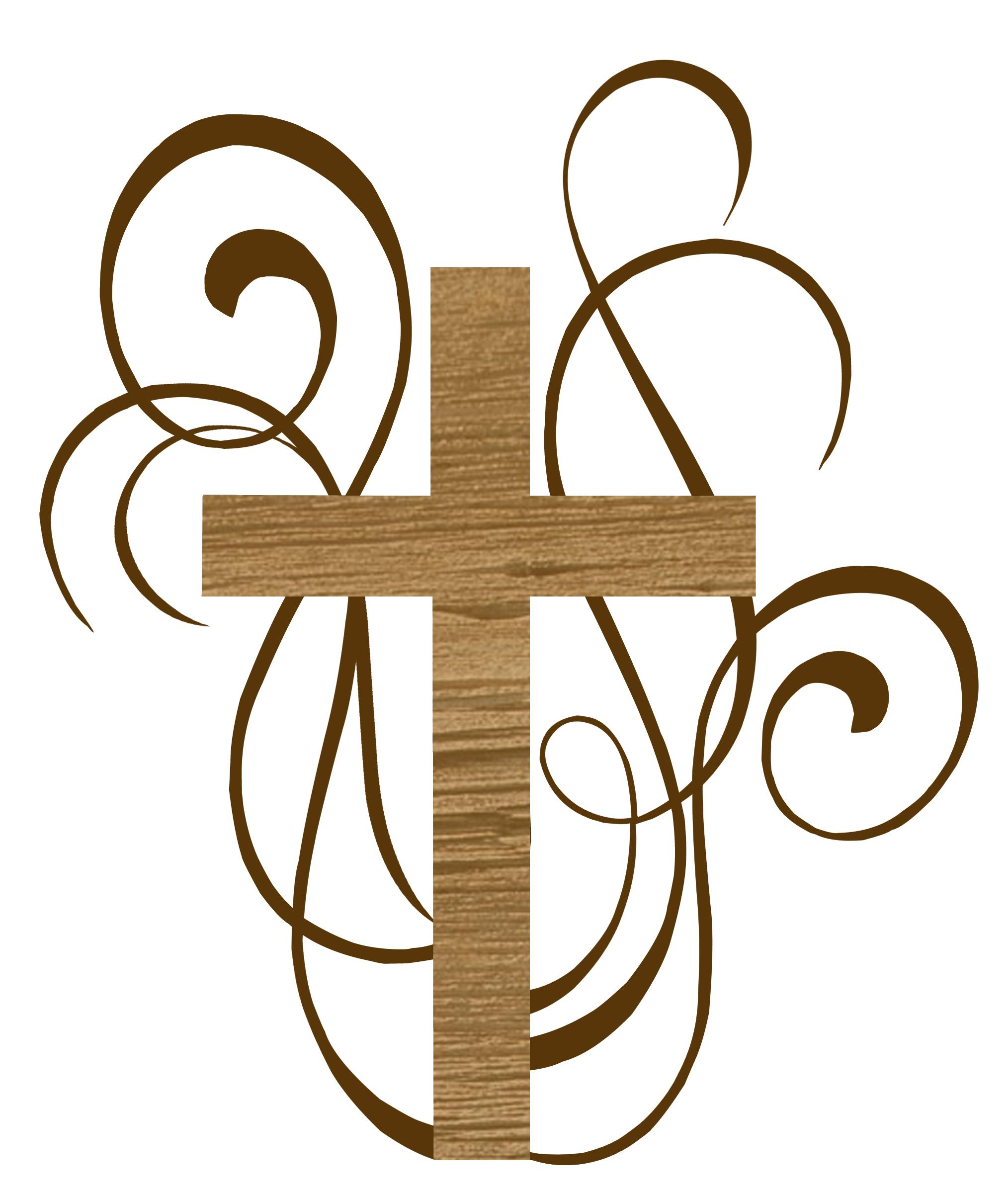 Baptism Cross Cliparts