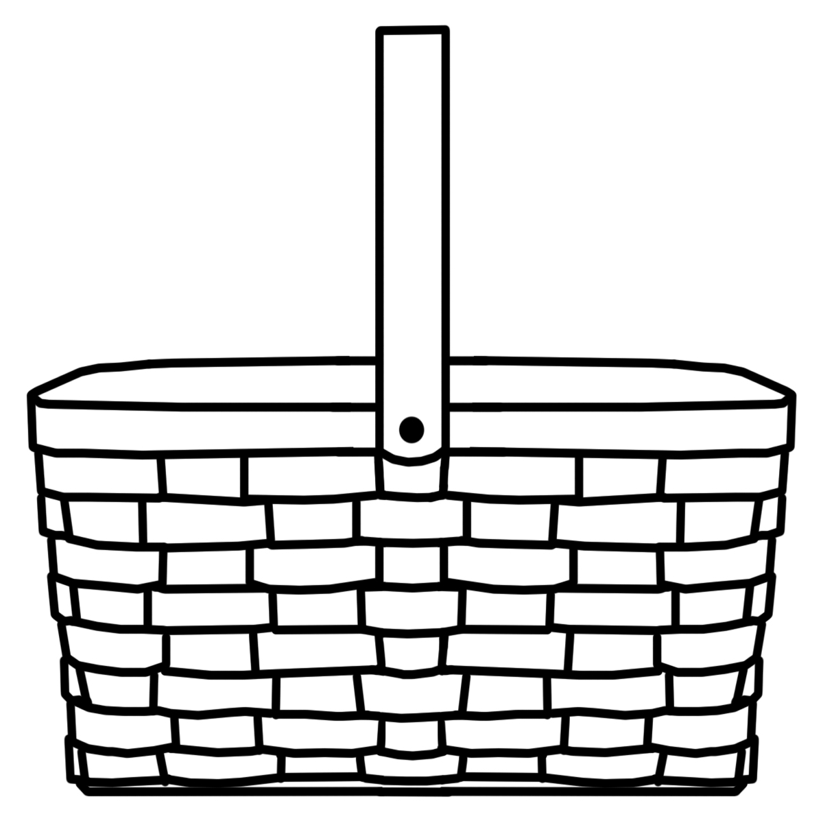 hight resolution of 1200x1200 picnic basket clipart wicker basket