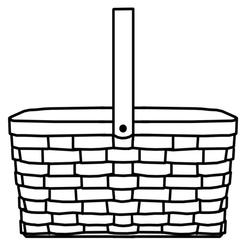 small resolution of 1200x1200 picnic basket clipart wicker basket