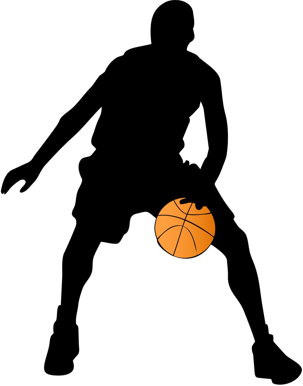 medium resolution of 1705x2170 basketball player clip art many interesting cliparts