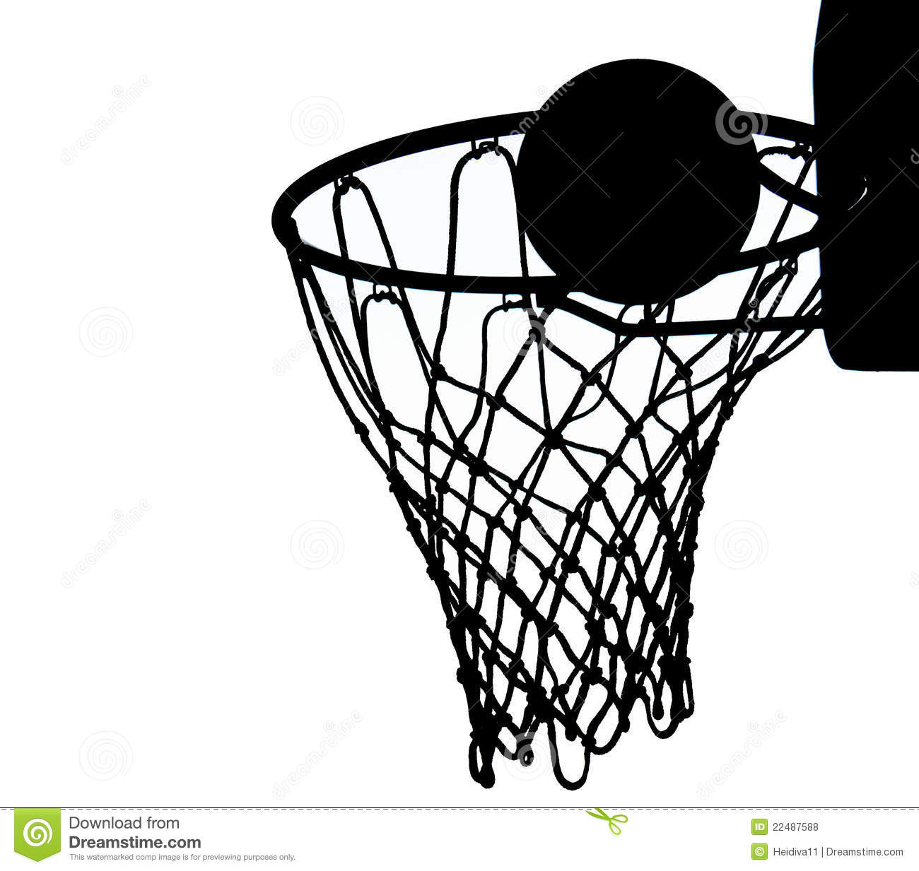 Basketball Goal Clipart