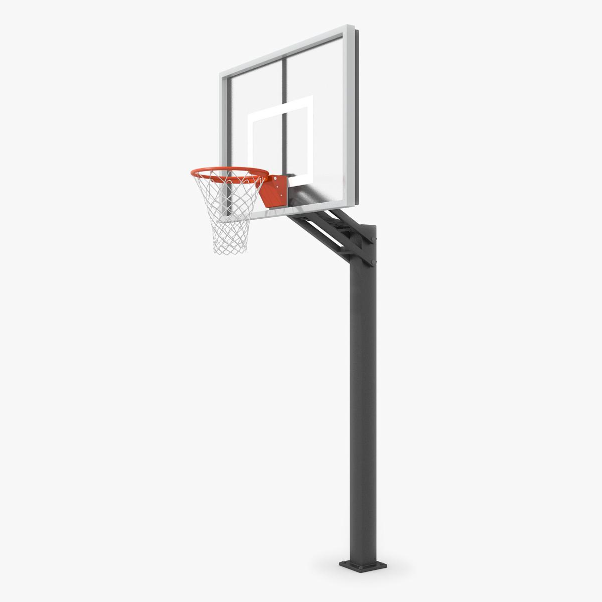 Basketball Hoop Side View