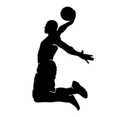 small resolution of 1000x1000 black basketball cliparts