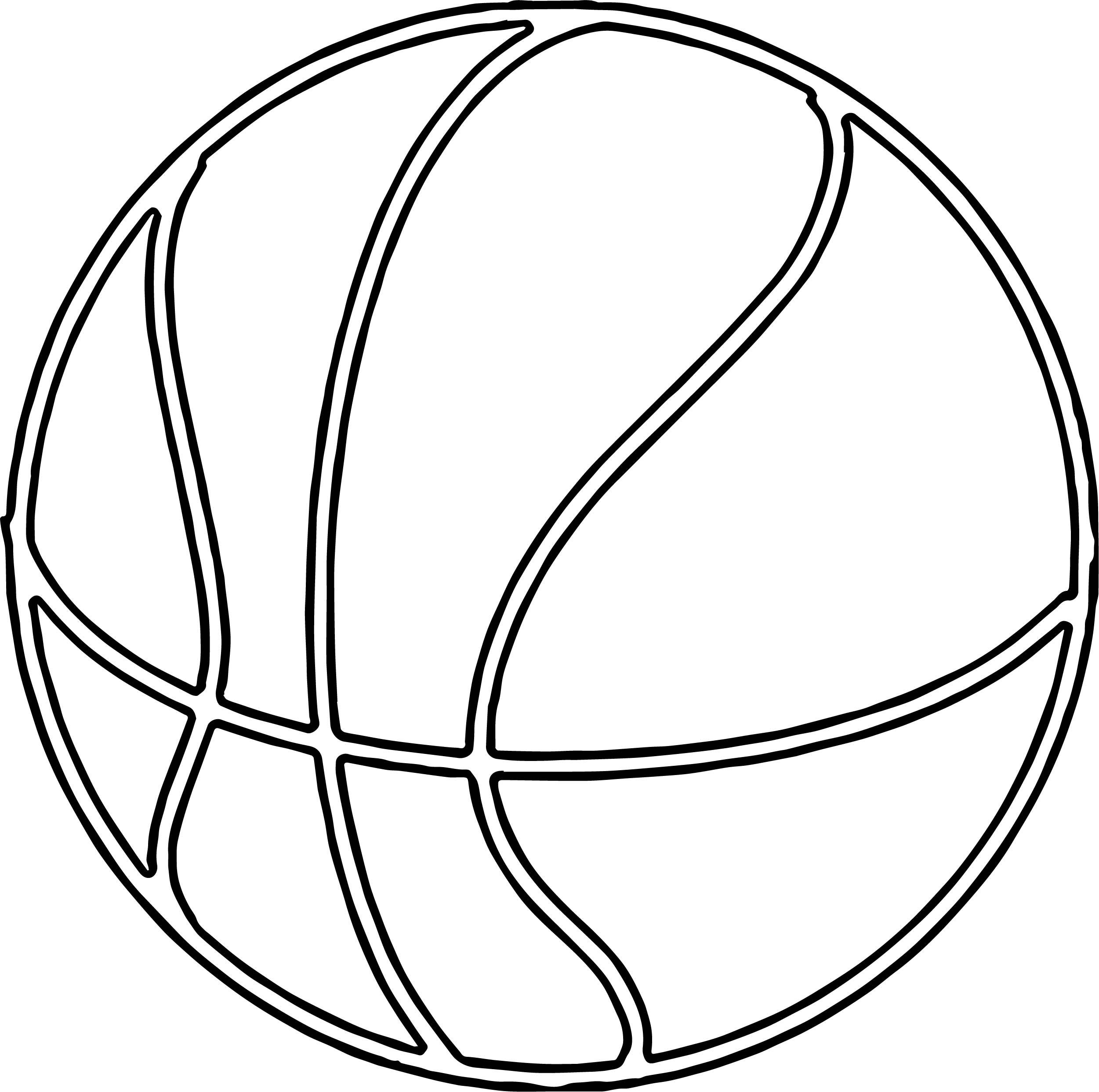 Basketball Outline