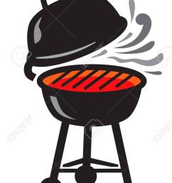 865x1300 vector black bbq grill icons on white background royalty free [ 865 x 1300 Pixel ]