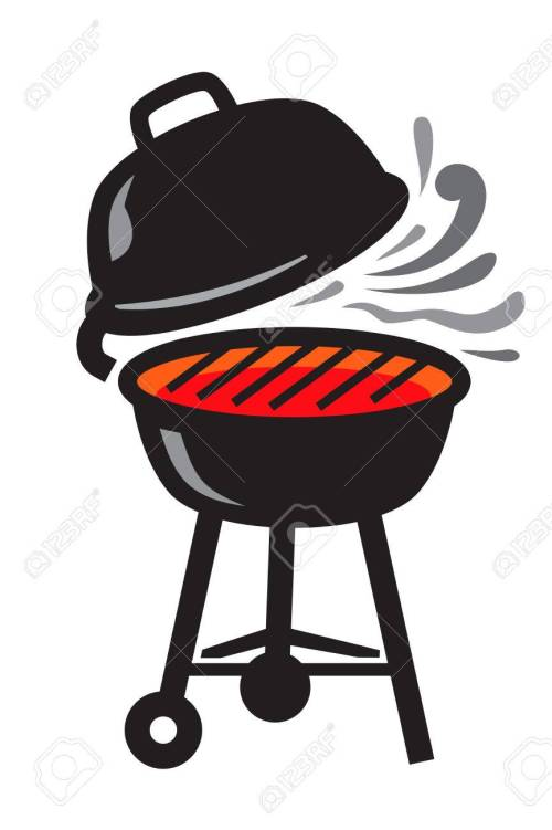 small resolution of 865x1300 vector black bbq grill icons on white background royalty free