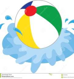1300x1233 beach ball in water clipart [ 1300 x 1233 Pixel ]