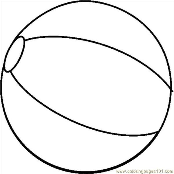 ball coloring pages # 12