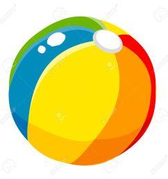 1300x1300 props beach ball cute cartoon royalty free cliparts vectors  [ 1300 x 1300 Pixel ]