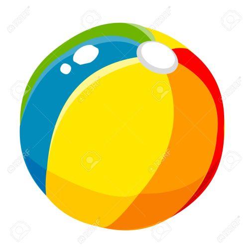 small resolution of 1300x1300 props beach ball cute cartoon royalty free cliparts vectors