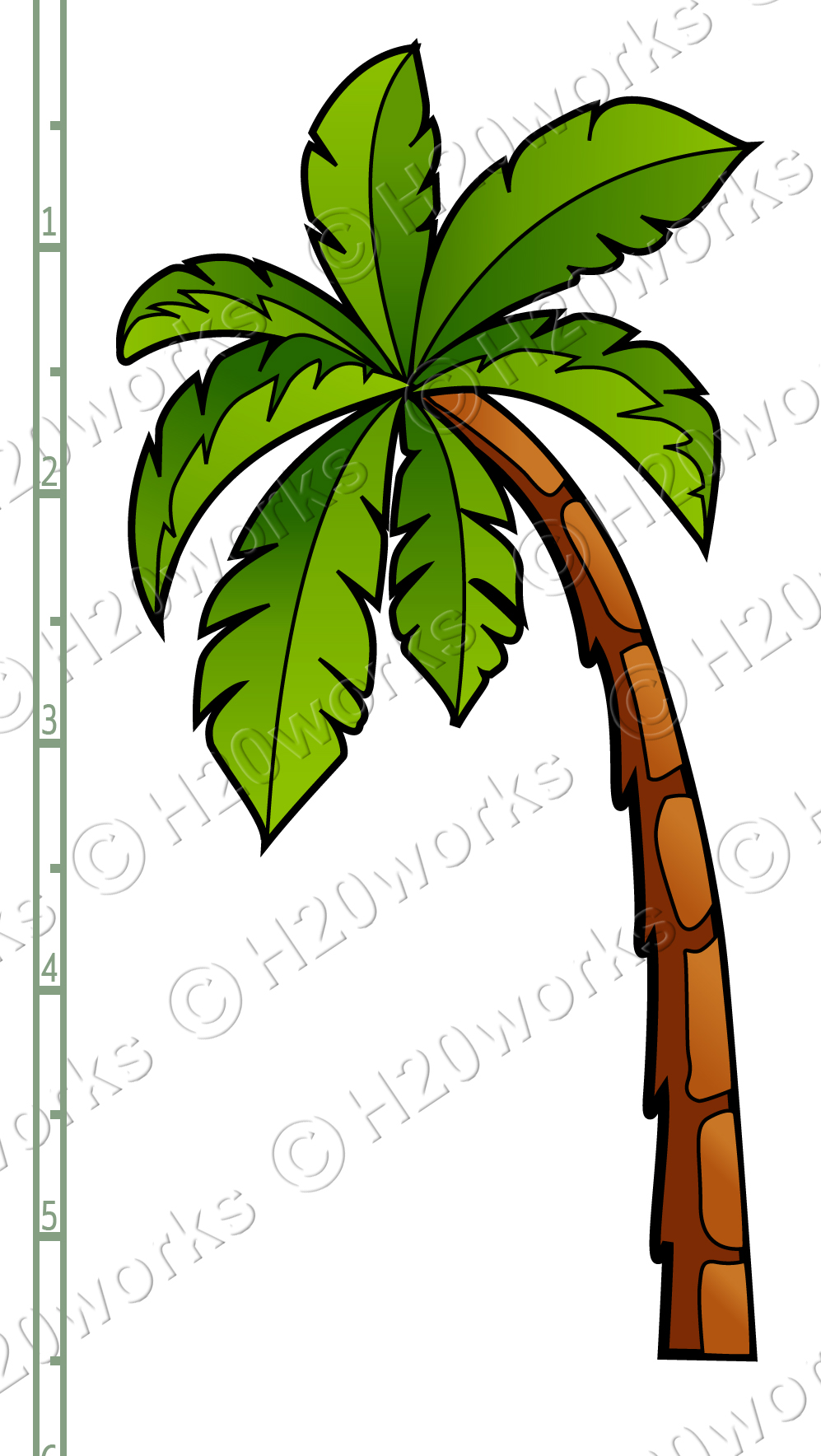 medium resolution of 997x1768 palm tree beach clip art cliparts