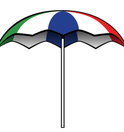 900x900 beach umbrella clip art free clipart umbrella outline feebase net [ 900 x 900 Pixel ]