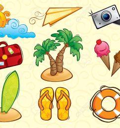 1300x990 vacation clipart beach bag [ 1300 x 990 Pixel ]