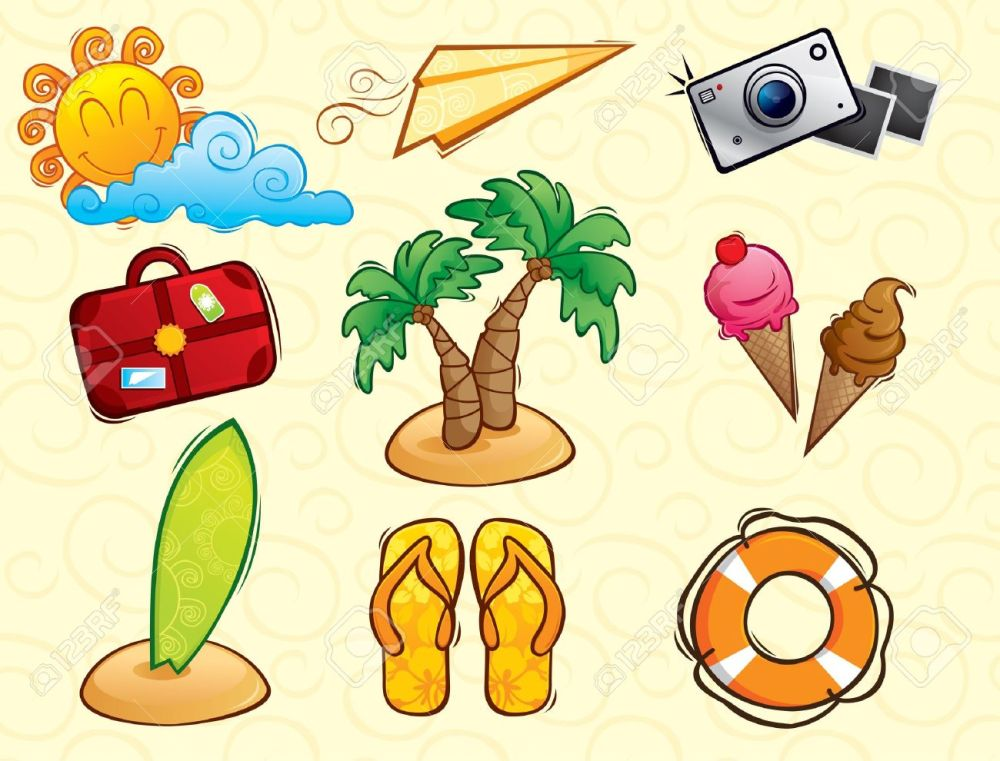 medium resolution of 1300x990 vacation clipart beach bag