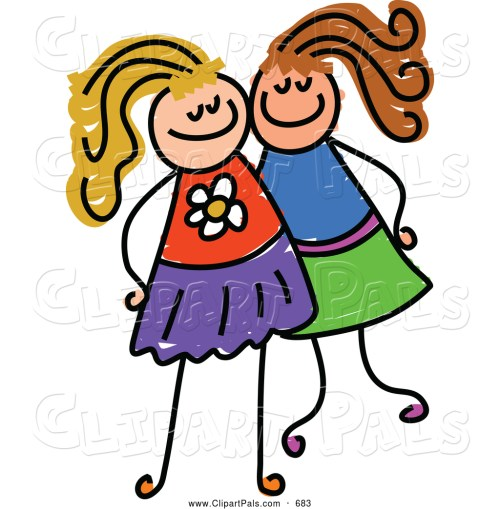small resolution of 1024x1044 two friends clipart clipart panda