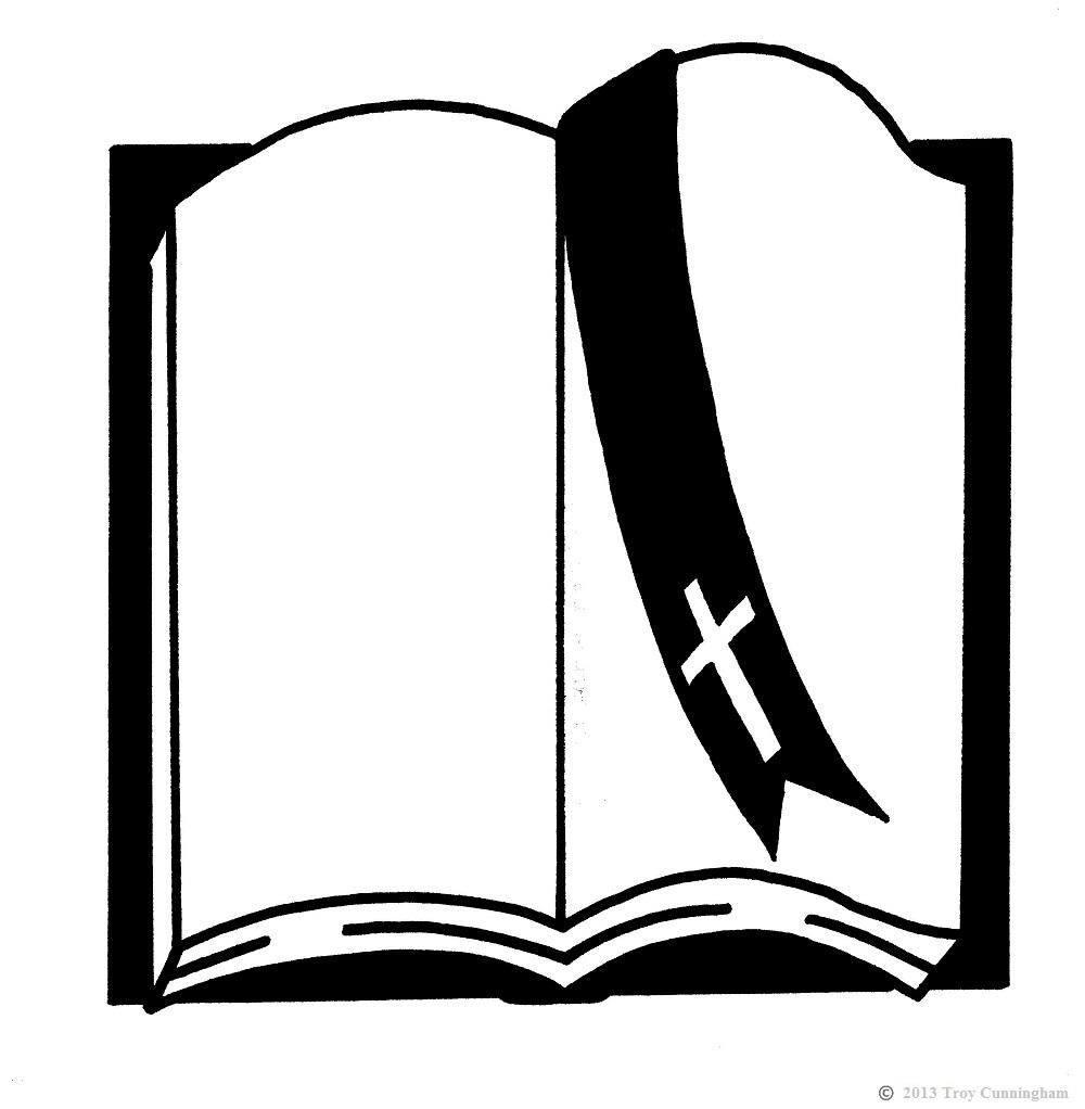 medium resolution of 1000x1022 open bible clipart