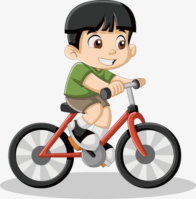 biking cartoon images free